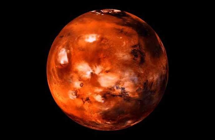 Mars, Earth and sun are perfectly aligned on Sunday