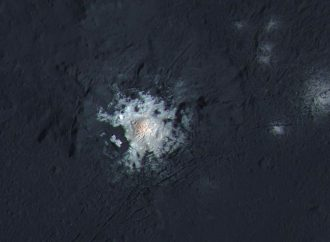 Young Craters can Explain Ceres White Spots
