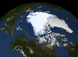 Arctic Melt could match its Record High of 2012